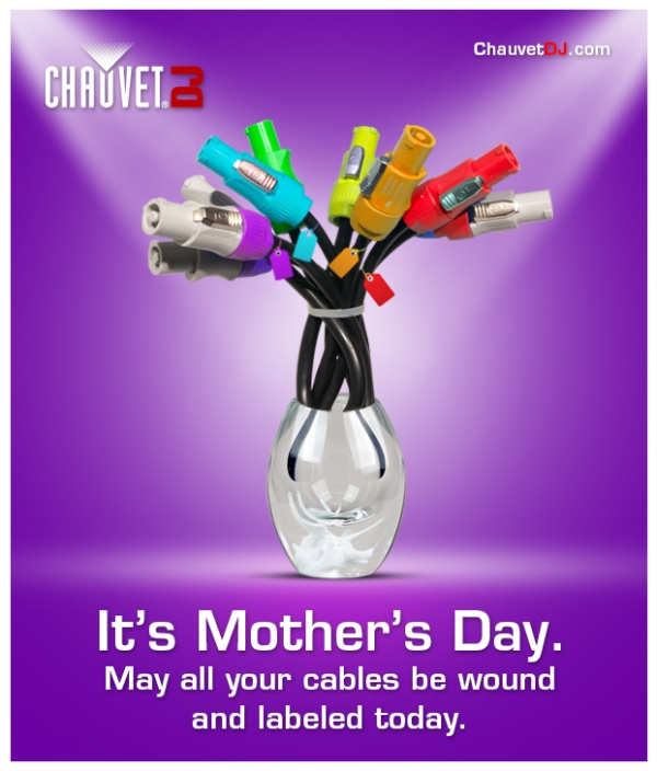 Chauvet-DJ-Happy-Mothers-Day