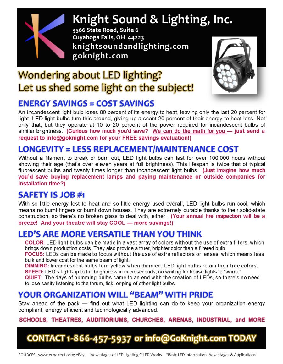 Energy Management | Knight Sound & Lighting